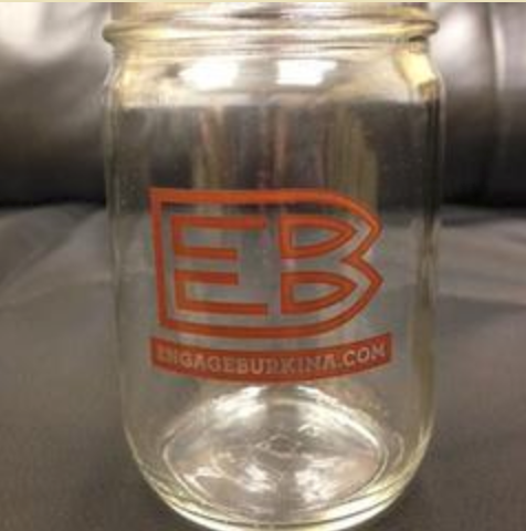 Help Engage Burkina buy mason jar